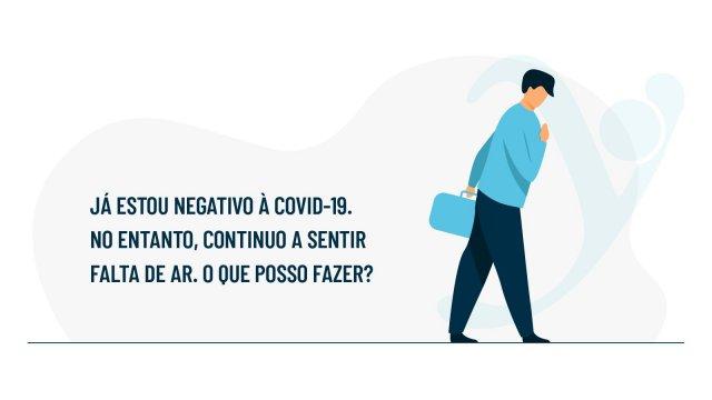 Saiba como gerir a falta de ar pós-COVID-19