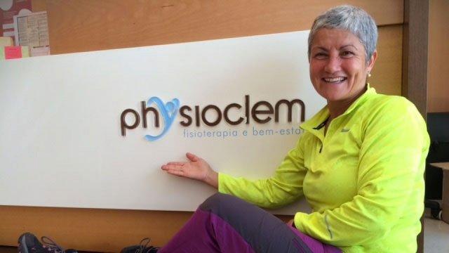 """""""A Physioclem é uma caixa mágica: trata do corpo e da mente"""""""